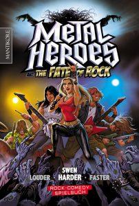 Metal Heroes Cover