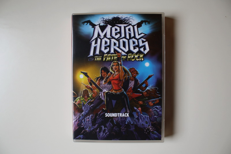 Metal Heroes Soundtrack in DVD-Hülle