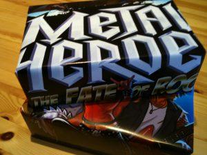 Metal Heroes SE als Geschenk fertif verpackt