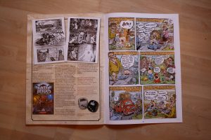 Metal Heroes in U-Comix #195